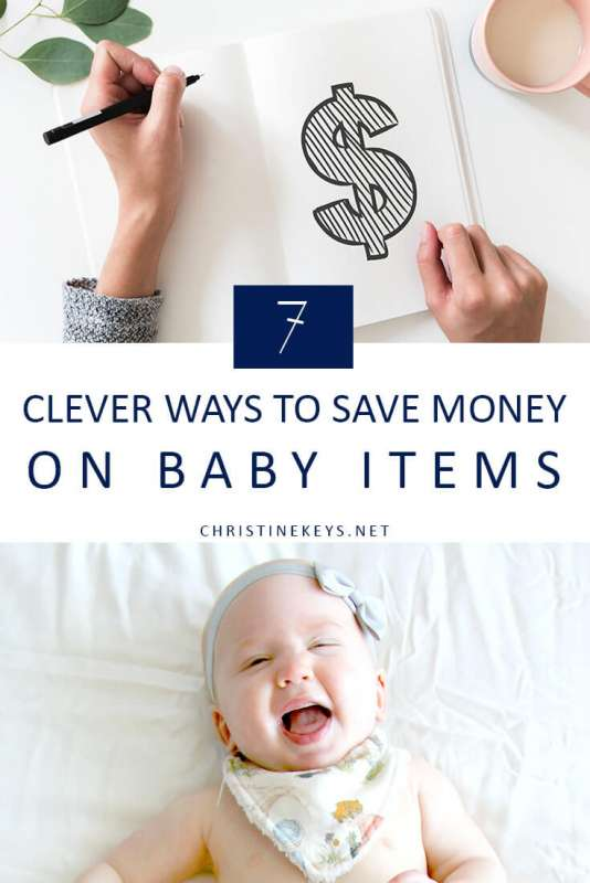 7 Clever Ways to Save Your Cash    Wondering how you're going to afford a baby? It might not be as expensive as you think. Check out these 7 practical tips that will help save you money! #baby #budgeting #family #parenting #pregnancy #motherhood