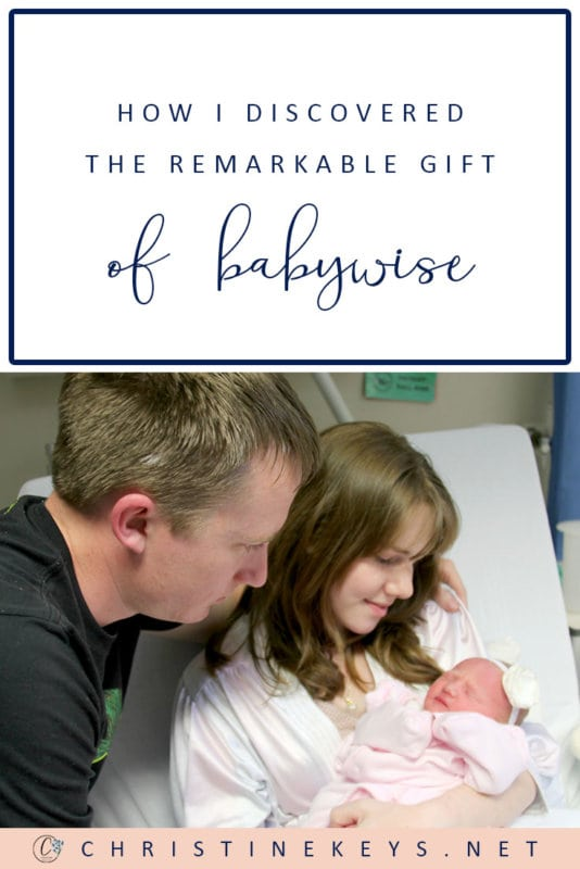How I Discovered the Remarkable Gift of Babywise || Find out what Babywise is and how I discovered it. #parenting #sleeptraining #babysleep #newborns #motherhood #babies #sleepschedule #sleep