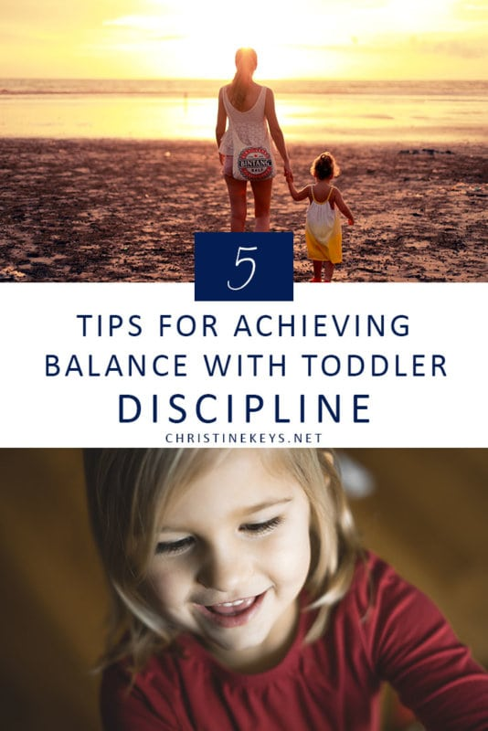5 Tips for Achieving Balance With Toddler Discipline || Learn how to allow your child to express themselves while still teaching them appropriate behaviour. #parenting #toddlers #discipline #motherhood #routine