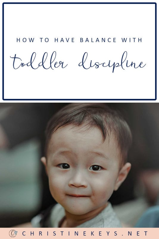 How to Have Balance With Toddler Discipline || Learn how to allow your child to express themselves while still teaching them appropriate behaviour. #parenting #toddlers #discipline #motherhood #routine