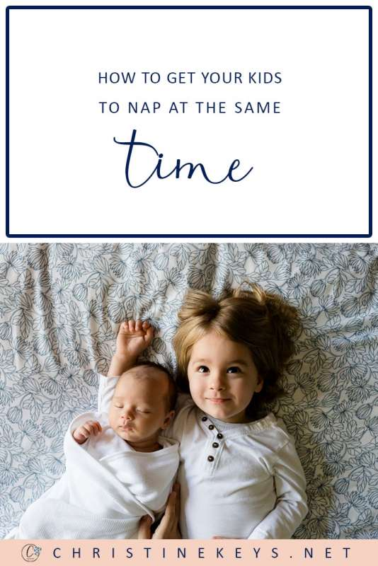 How to Get Your Kids to Nap at the Same Time || Follow these 5 Steps to Get Your Kids Napping at the Same Time. #parenting #naps #motherhood #siblings #babies #toddlers #babysleep #sleeproutine