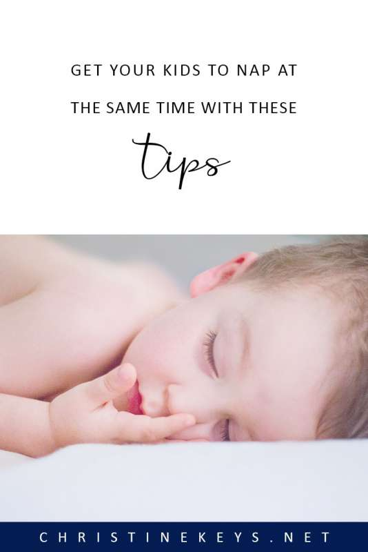 Get Your Kids Napping at the Same Time with these Tips || Follow these 5 steps and get your children to nap together at the same time. #parenting #naps #motherhood #siblings #babies #toddlers #babysleep #sleeproutine