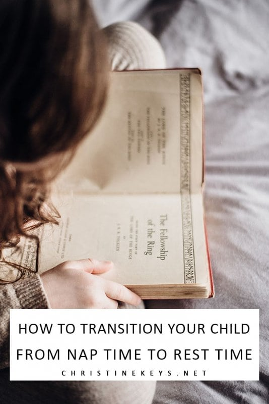 How to Transition Your Child From Nap Time to Rest Time || Find out when, why, and how to make the transition to rest time with these 5 helpful tips. #parenting #naps #toddlers #preschoolers #motherhood #routines #babysleep
