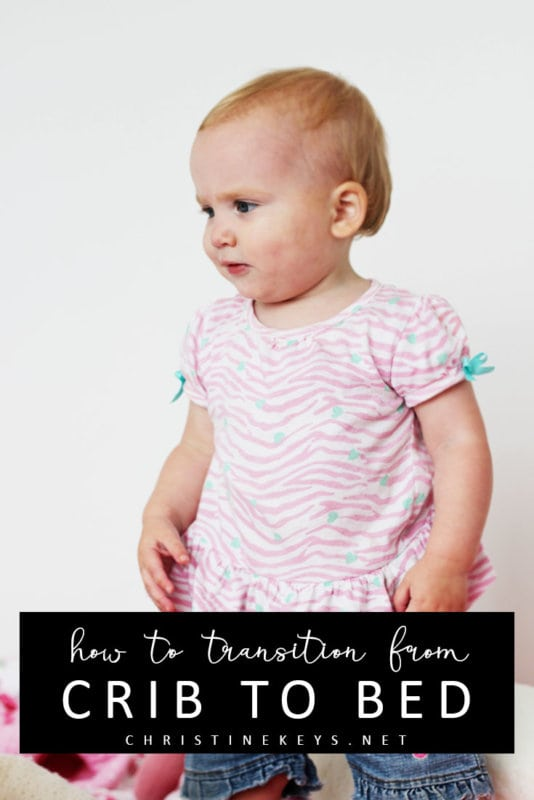 How to Transition from Crib to Bed || Find out why moving your baby from a crib to a bed isn't as daunting and difficult as you think. Use these tips to help ensure a smooth transition. #toddlers #toddlersleep #parenting #motherhood #babies #parentingtips