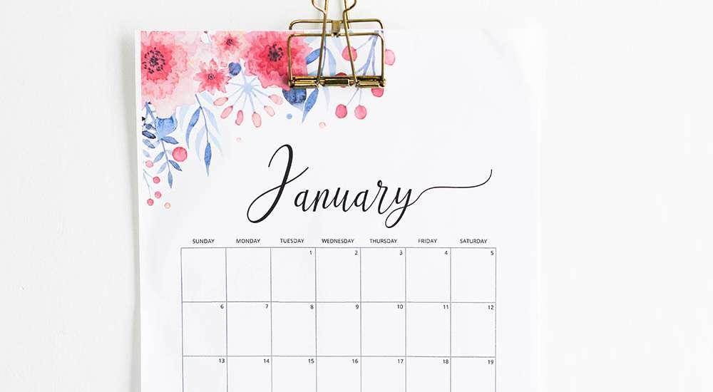 where to get free calendars
