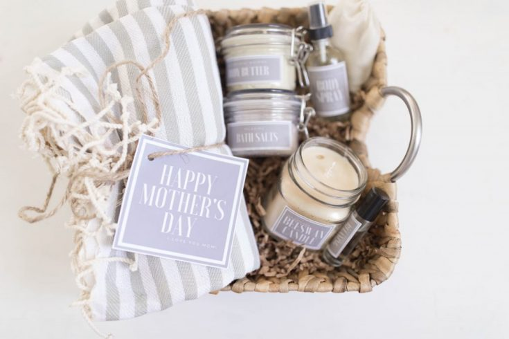 Handmade Mother's Day Gift Baskets