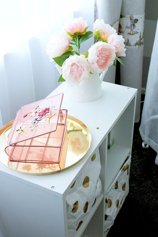Beautiful, Bright, and Airy: Girl's Floral Nursery