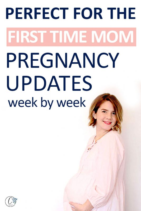 Pinterest image about pregnancy updates