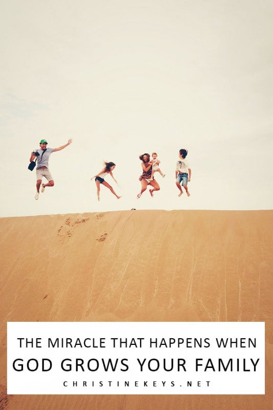 The Miracle that Happens When God Grows Your Family || The conception of a child is a miracle in and of itself, but there's another one that takes place as your family grows. #parenting #motherhood #babies #baby #newborn #family #siblings #love
