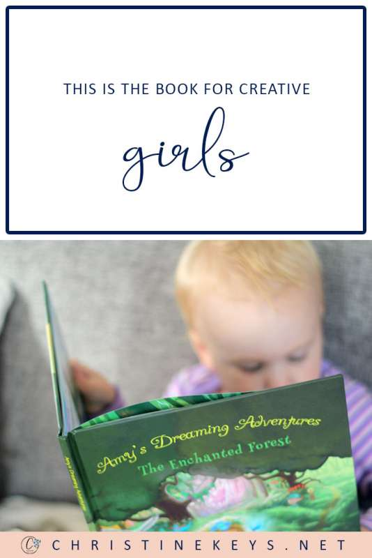 This is the Book for Creative Girls || A stunning book for your daughter. A compelling story with beautiful illustrations. #book #parenting #motherhood #toddler #daughter #girl #reading