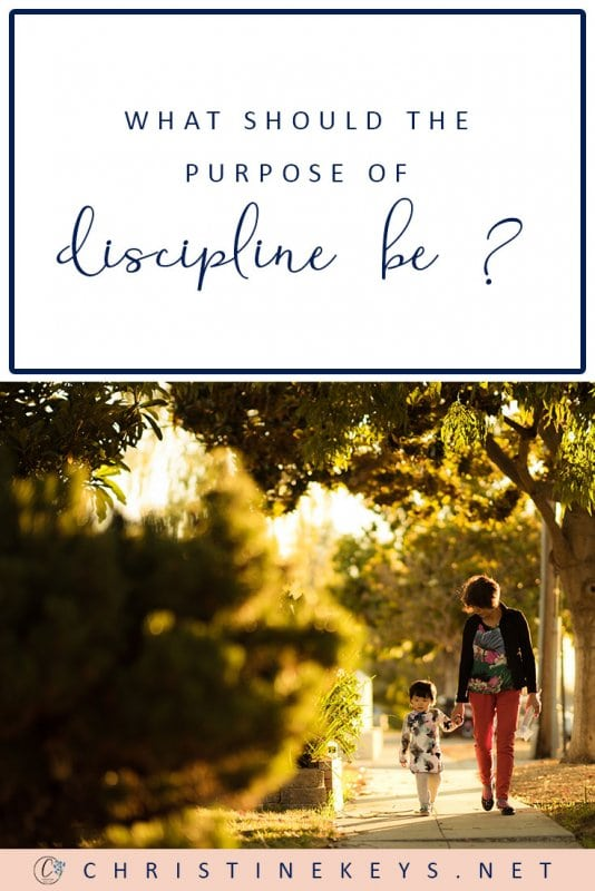 What Should the True Purpose of Discipline Be? || Is it about creating well-behaved children? Good people? Find out the true purpose of discipline in this post. #parenting #discipline #parenting #toddlers #babies #children