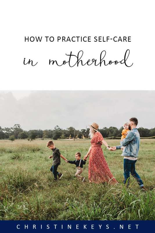 How to Practice Self-Care in Motherhood || Do you understand the definition of self-care? It may not be what you think it is. Find out what authentic self-care looks like and learn how to implement it. #selfcare #motherhood #mindfulness #parenting #womanhood