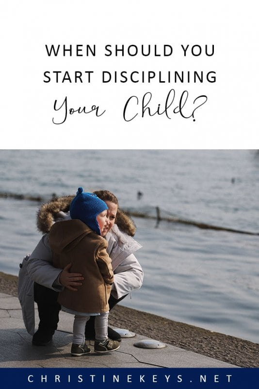 When Should You Start Disciplining Your Child? || Wondering when to start discipline? Not sure how to do it? Read this post for 5 tips to get you on the right track. #parenting #discipline #motherhood #babies #toddlers #children #kids