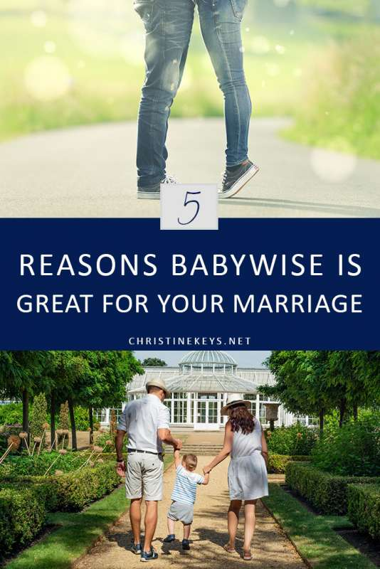 5 Reasons Babywise is Great for Your Marriage || Find out the reasons that babywise is very helpful for maintaining a healthy marriage. #babywise #parenting #sleeptraining #motherhood #marriage