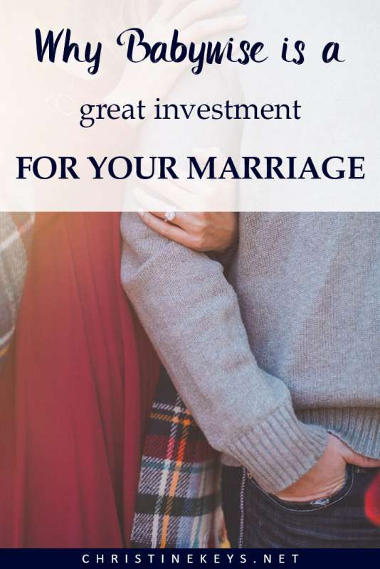 Why Babywise is Great Investment for Your Marriage || Find out the reasons that babywise is very helpful for maintaining a healthy marriage. #babywise #parenting #sleeptraining #motherhood #marriage